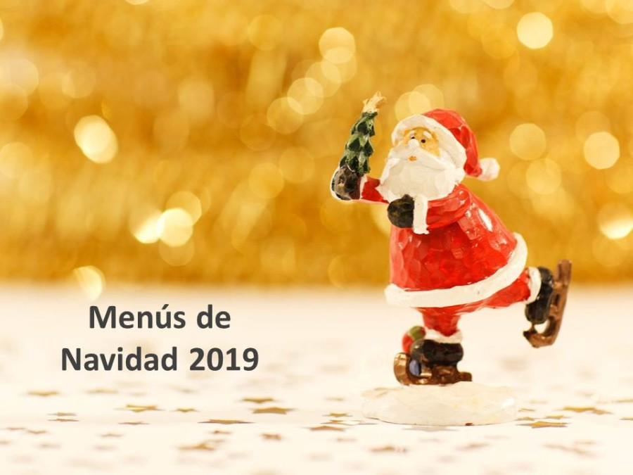MENÚS DE NAVIDAD 2019