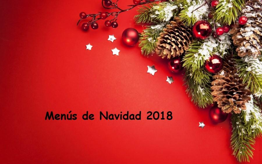 MENÚS DE NAVIDAD 2018